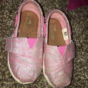 Toddler Pink Toms